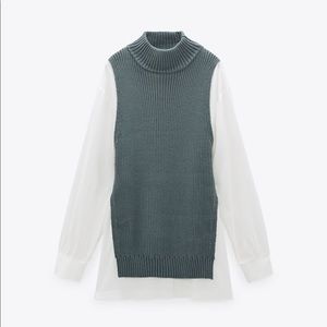 Zara combination sweater